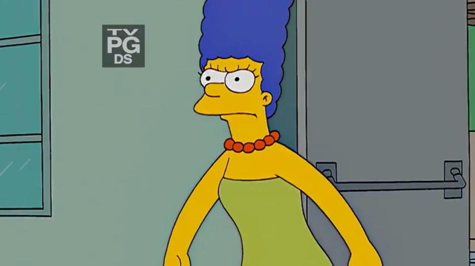 Simpson twins sucking cock